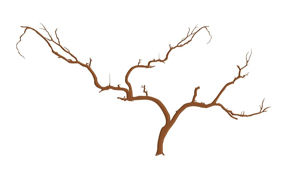 Scary Halloween Dead Tree