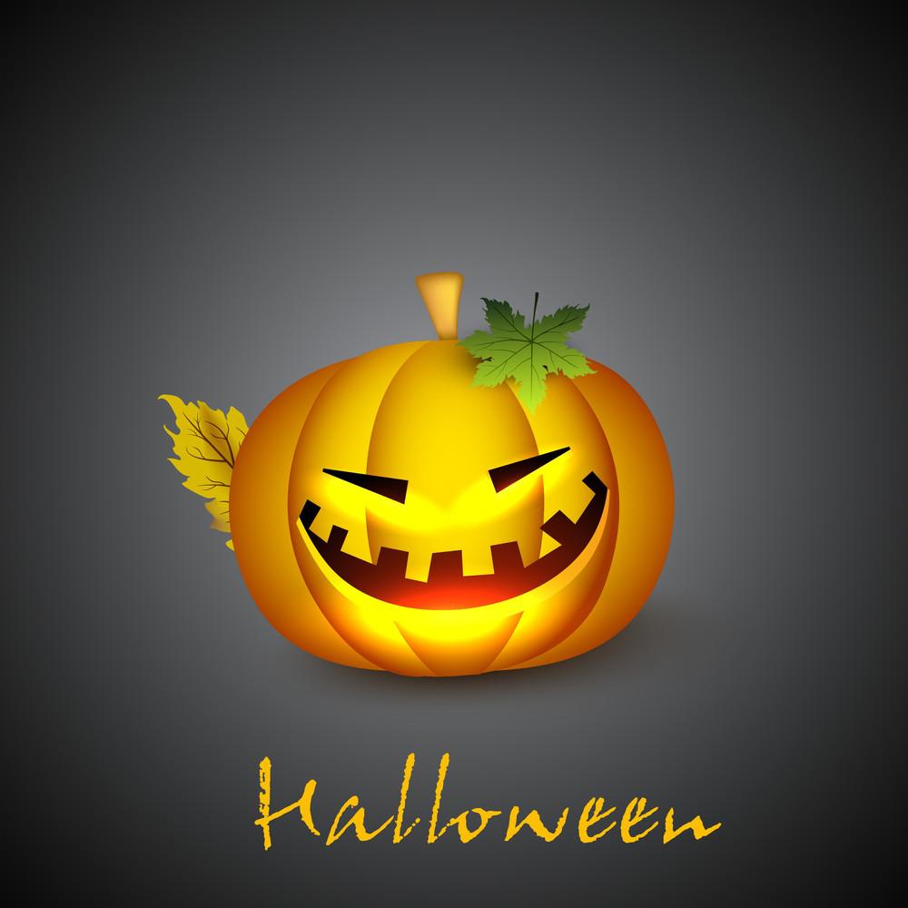 Scary Pupmkin For Halloween Night