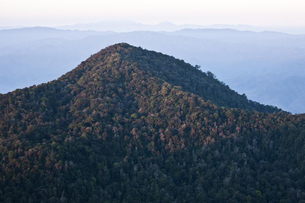 """scene of """"Mon Jong"""" mountain, Thailand"""