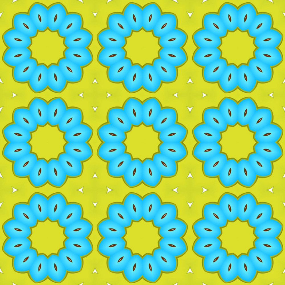 Scrapbook Flowers Backdrop