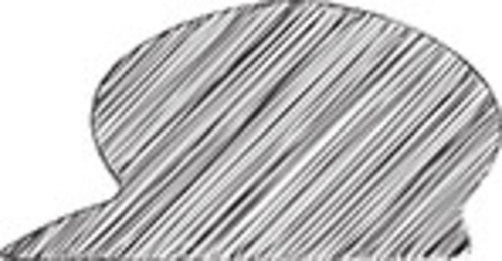 Scribbled Hat On White Background