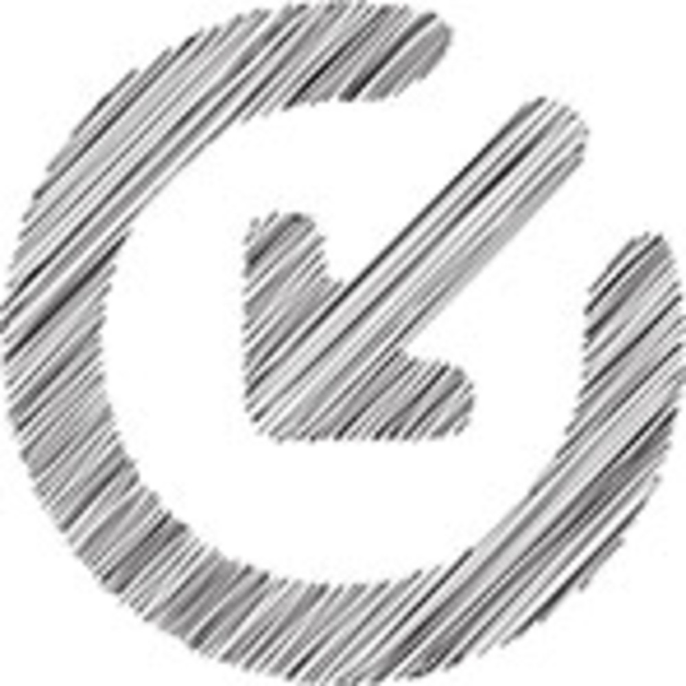 Scribbled Input Icon On White Background