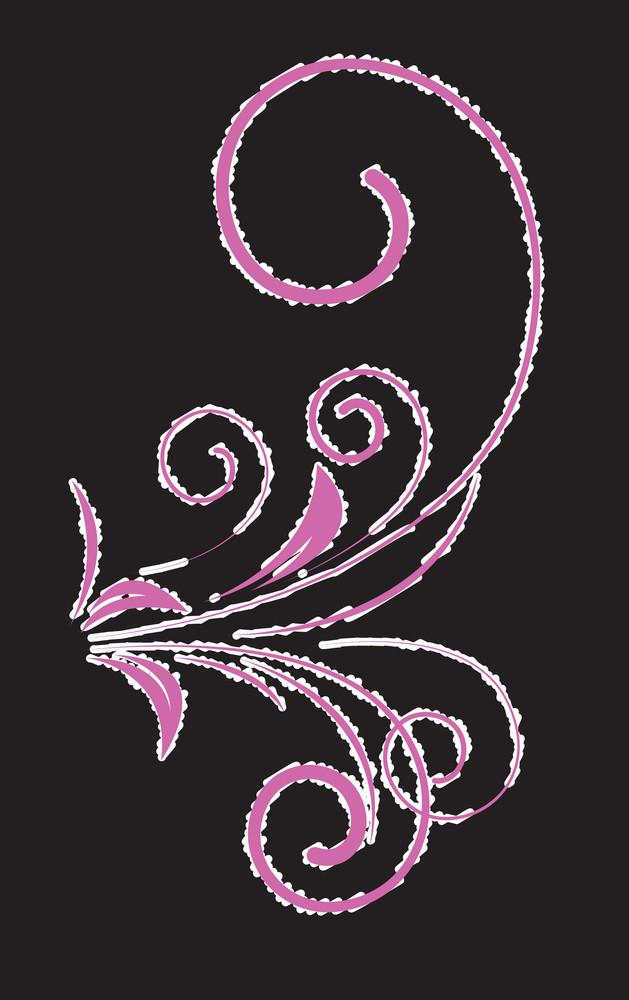 Scruffy Floral Design