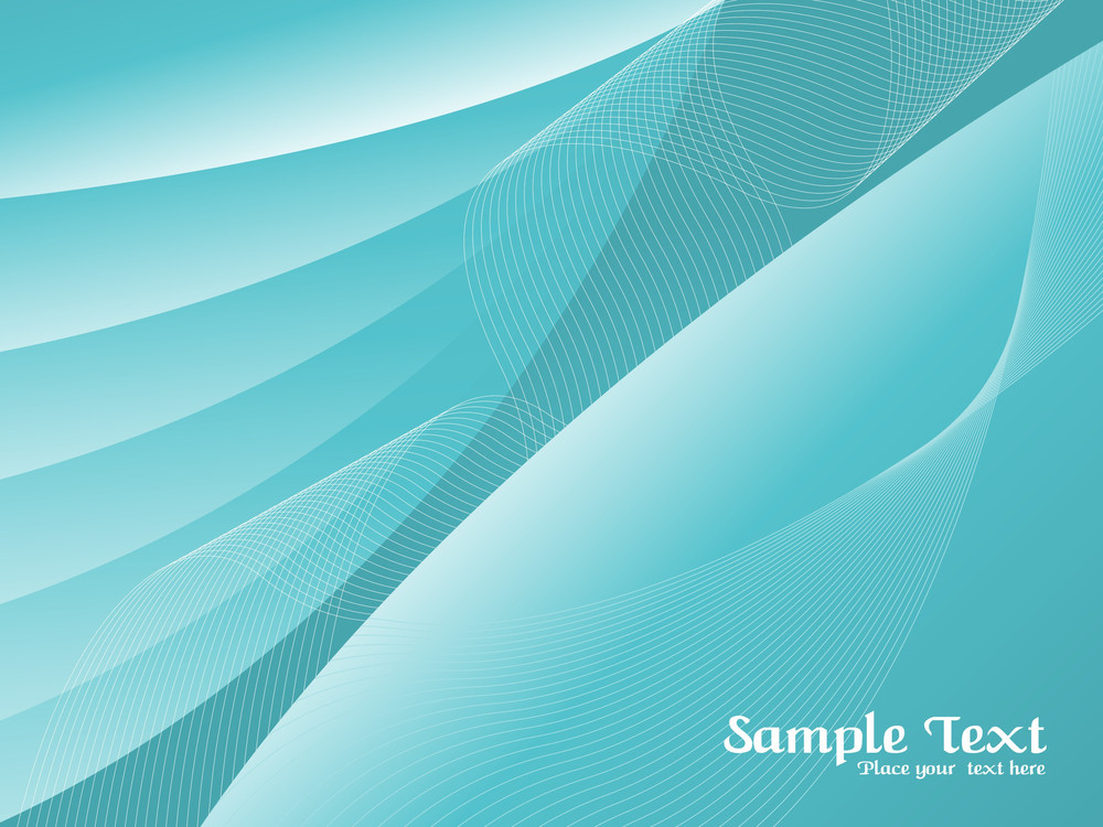 Seagreen Futuristic Background