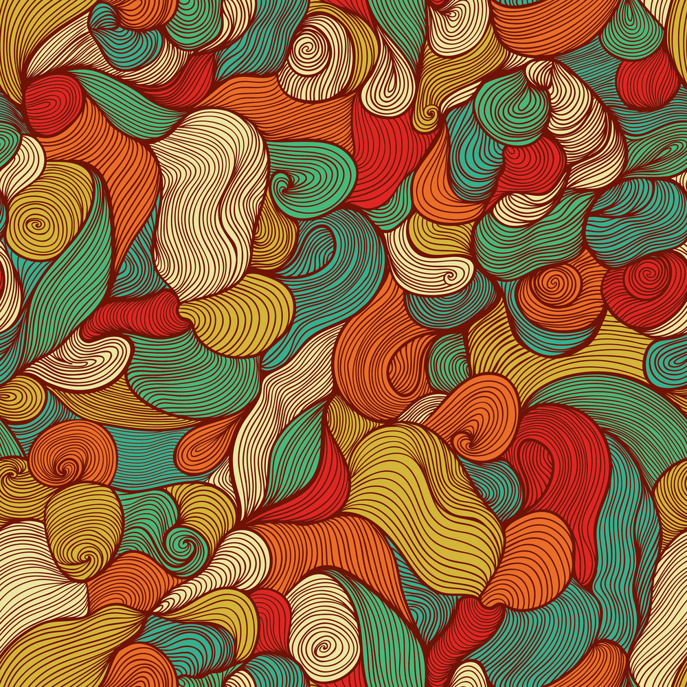 Seamless Abstract Hand-drawn Pattern