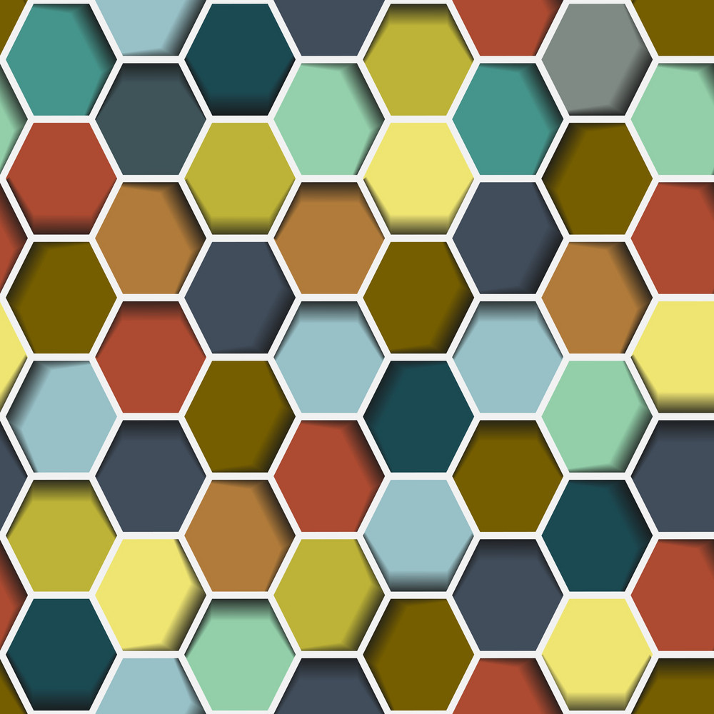 Seamless Abstract Hexagon
