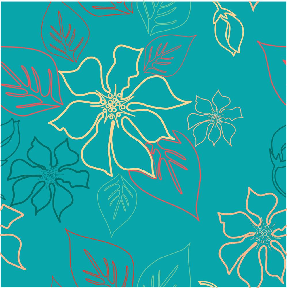 Seamless Aloha Pattern