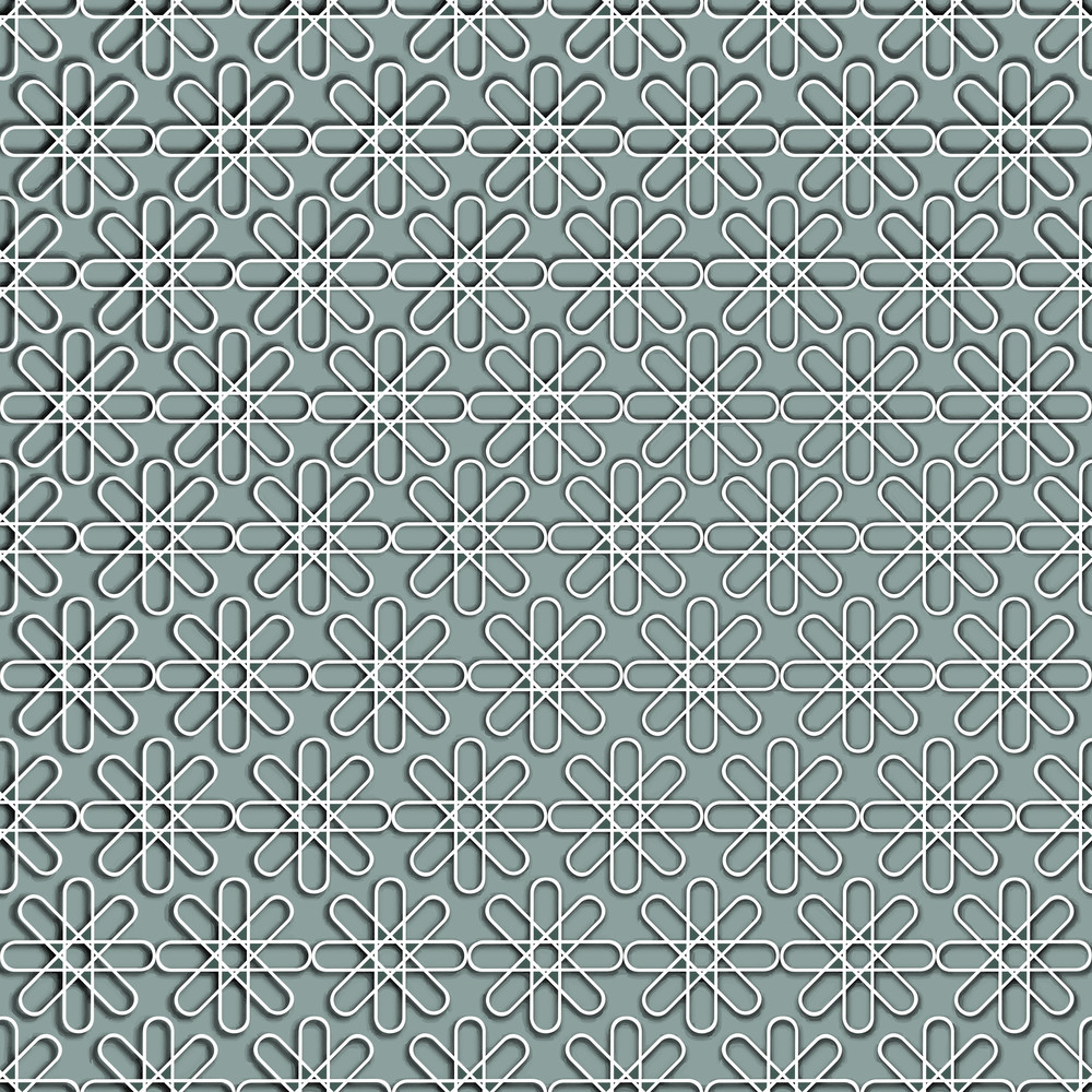 Seamless Background With Arabic Or Islamic Ornaments Style Pattern