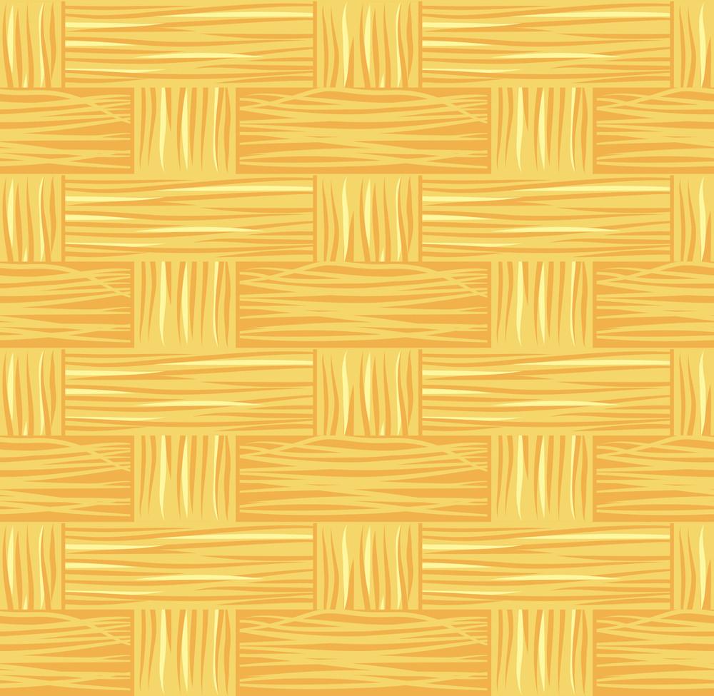 Seamless Basket Vector Texture