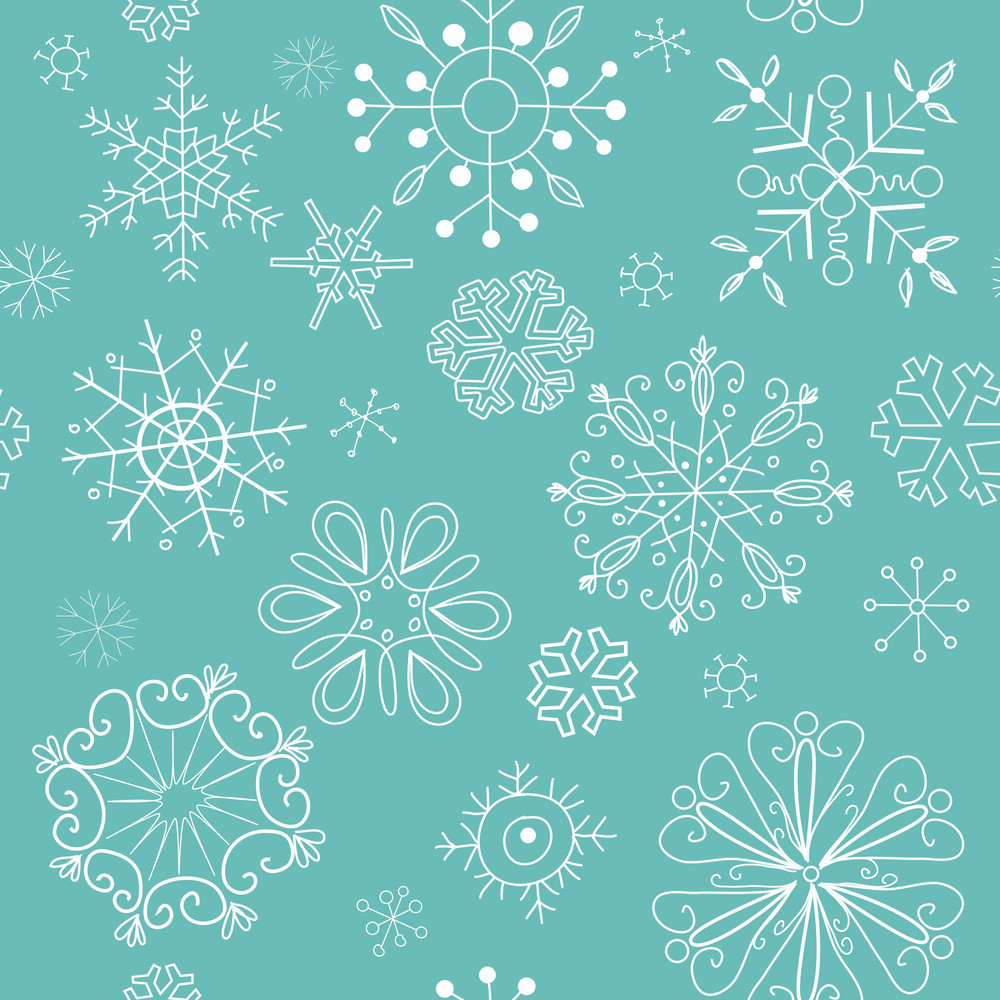 Seamless Christmas Background-