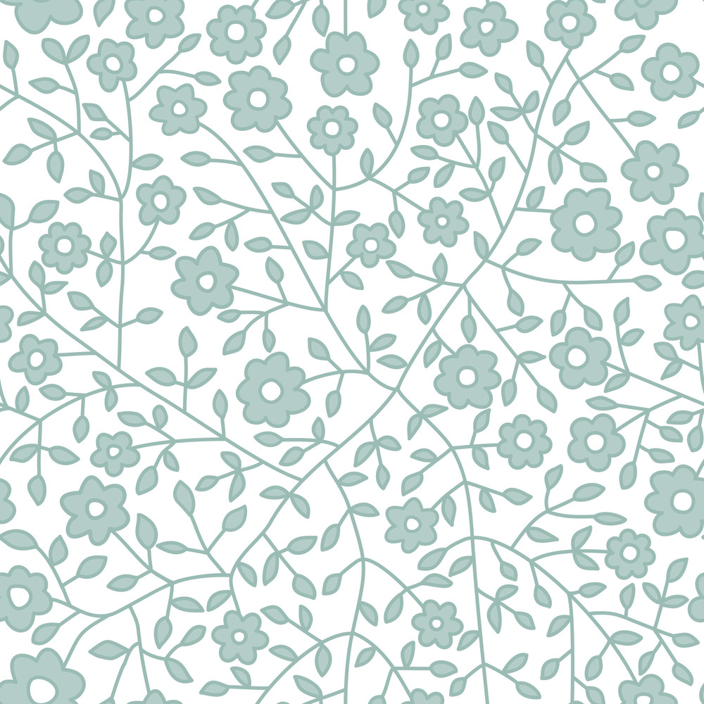 Seamless Floral Pattern Flowers Texture Daisy Royalty Free Stock