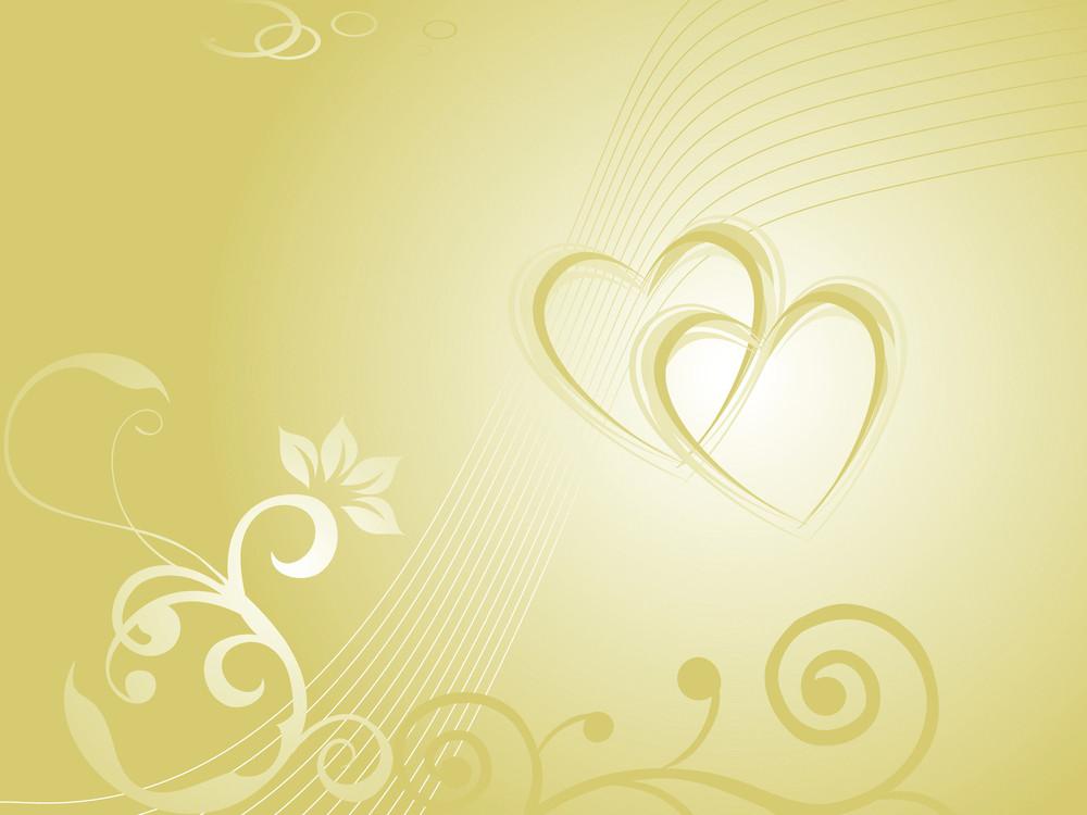 Seamless Floral Seagreen Valentine Background