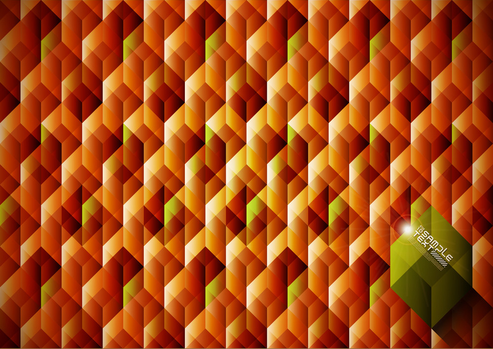 Seamless Geometrical Pattern Wrapping Paper Design