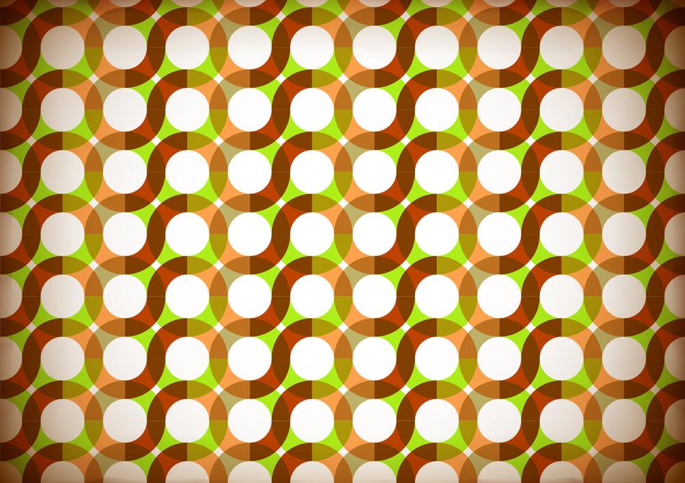 Seamless Retro Wrapping Paper Design