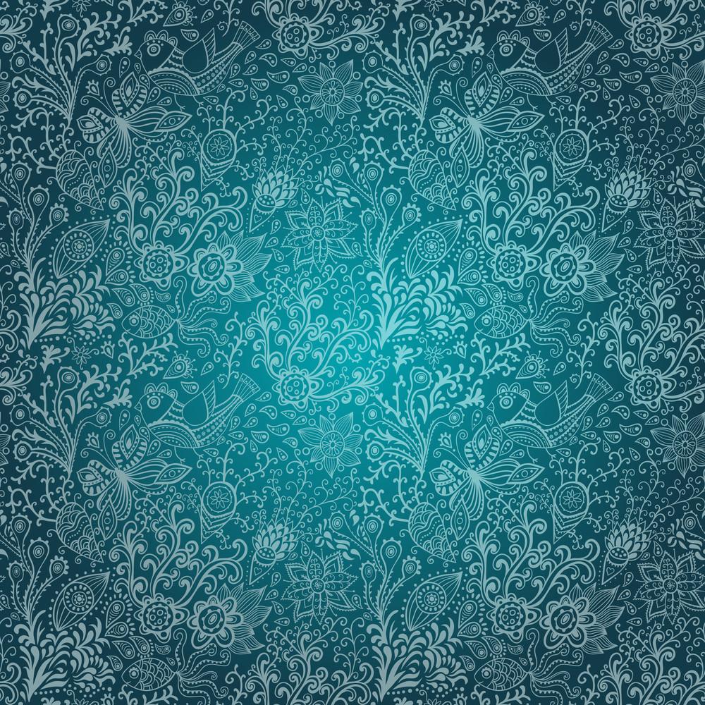 Nahtlose Textur mit Blumen