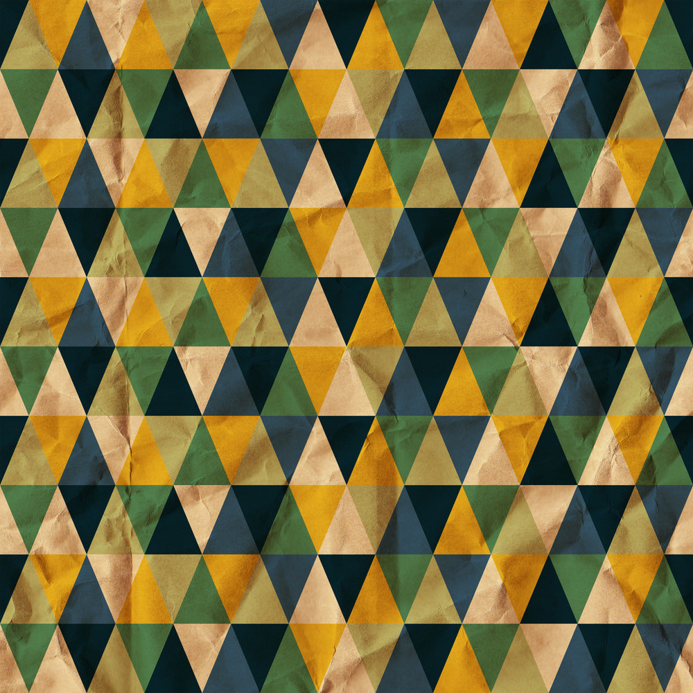 Seamless Texture With Triangles