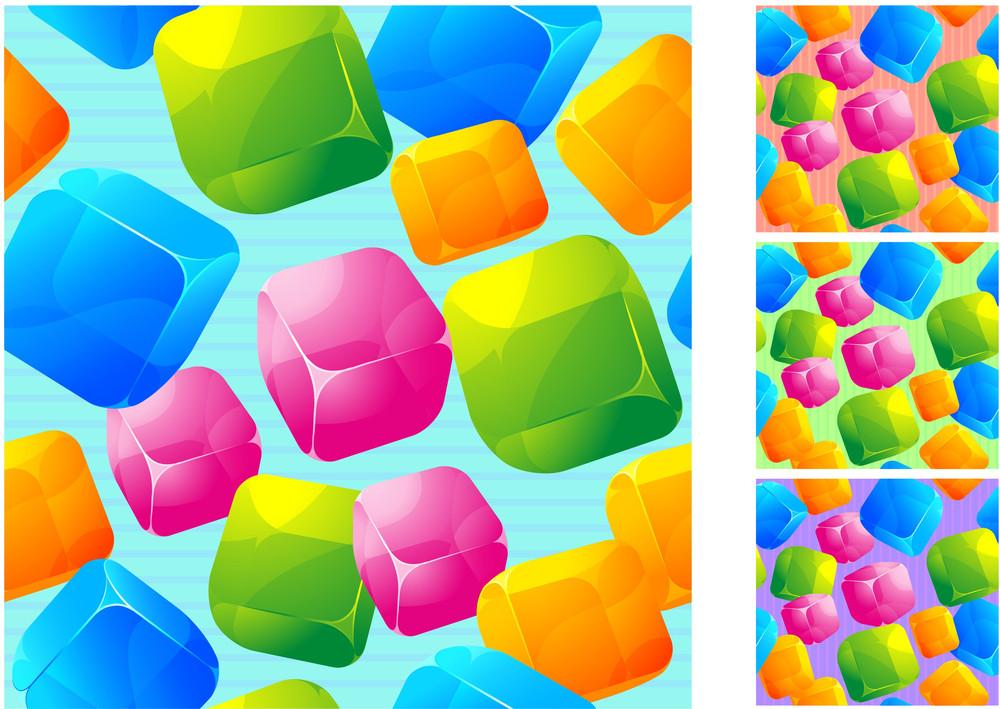 Seamless Vector Cubes.