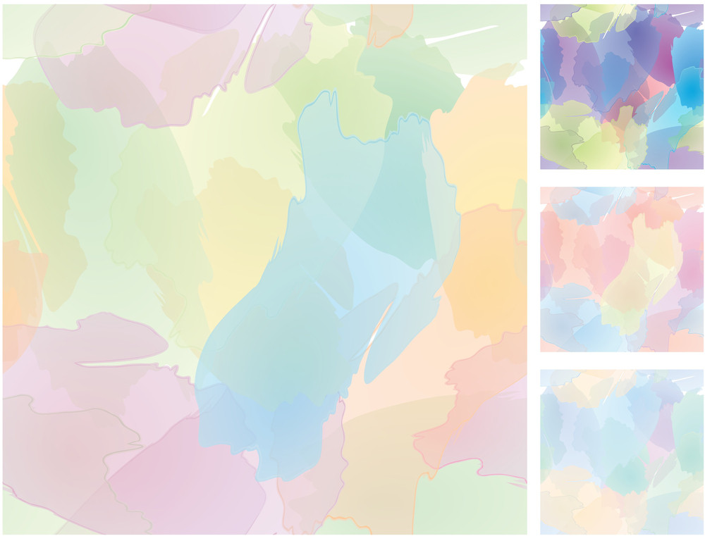 Seamless Watercolors. Vector