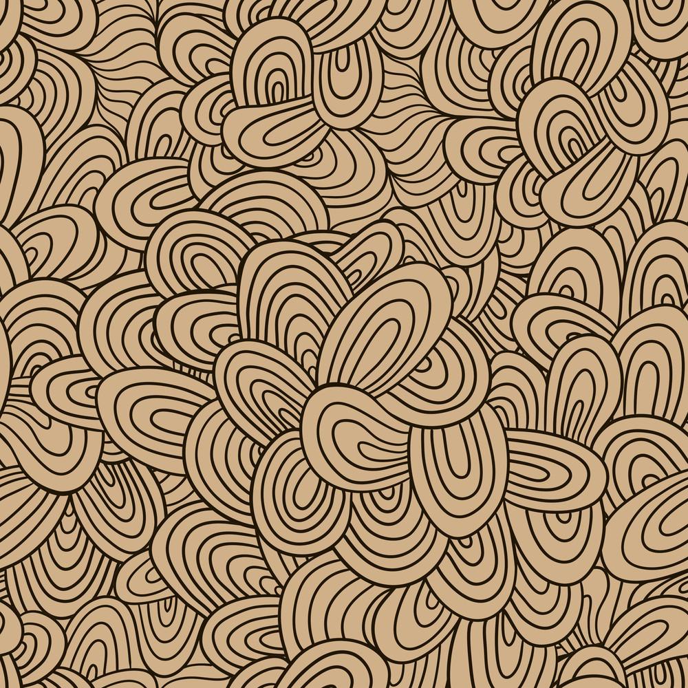 Seamless Wave Hand-drawn Pattern