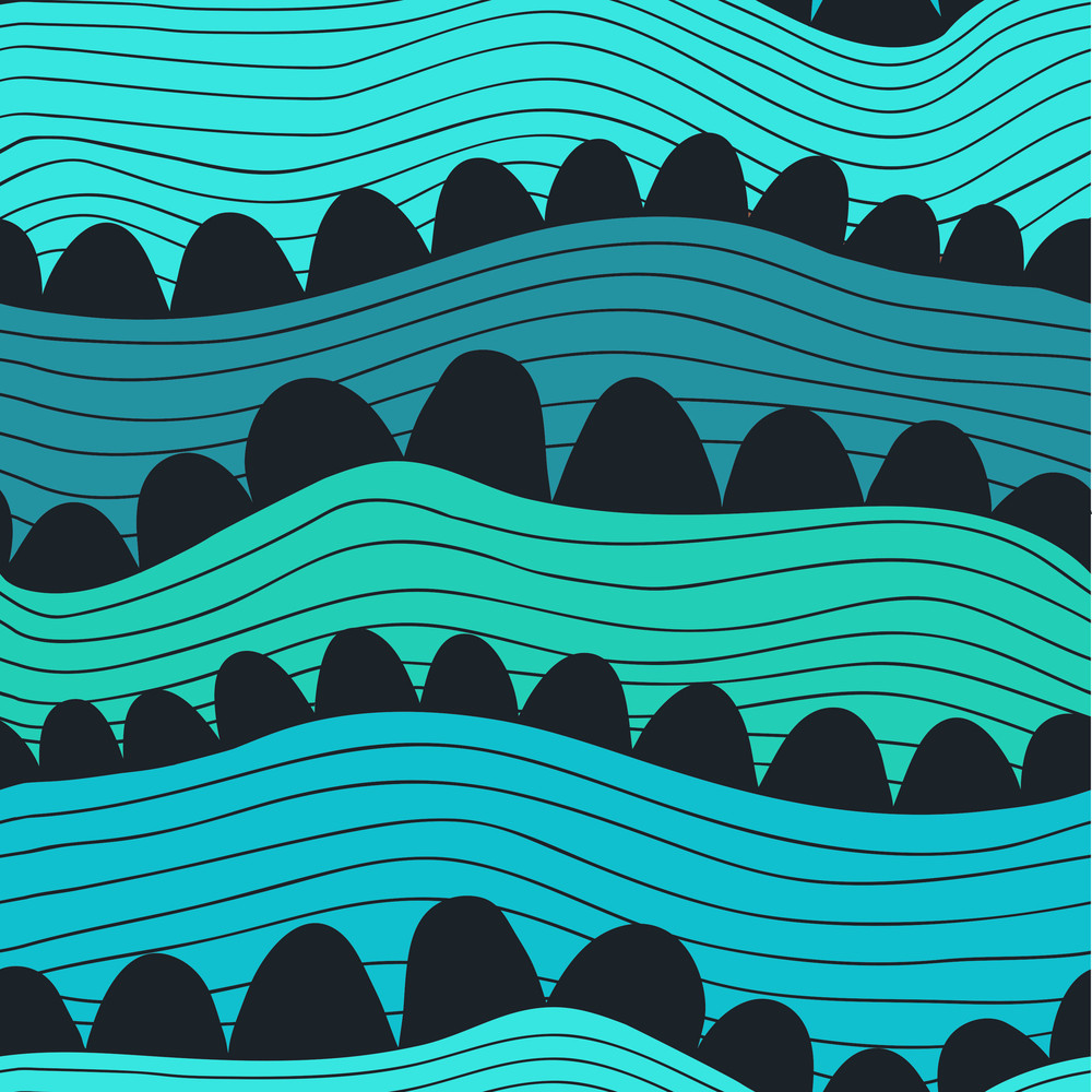 Seamless Waves Texture