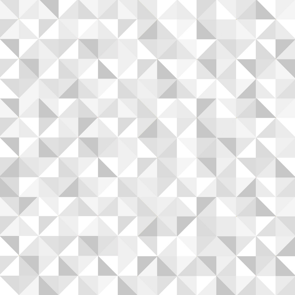 Seamless White Geometric Pattern