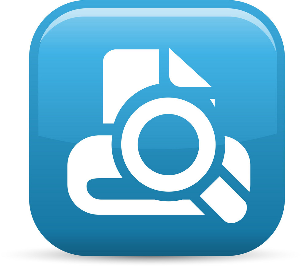 Search Drive Elements Glossy Icon