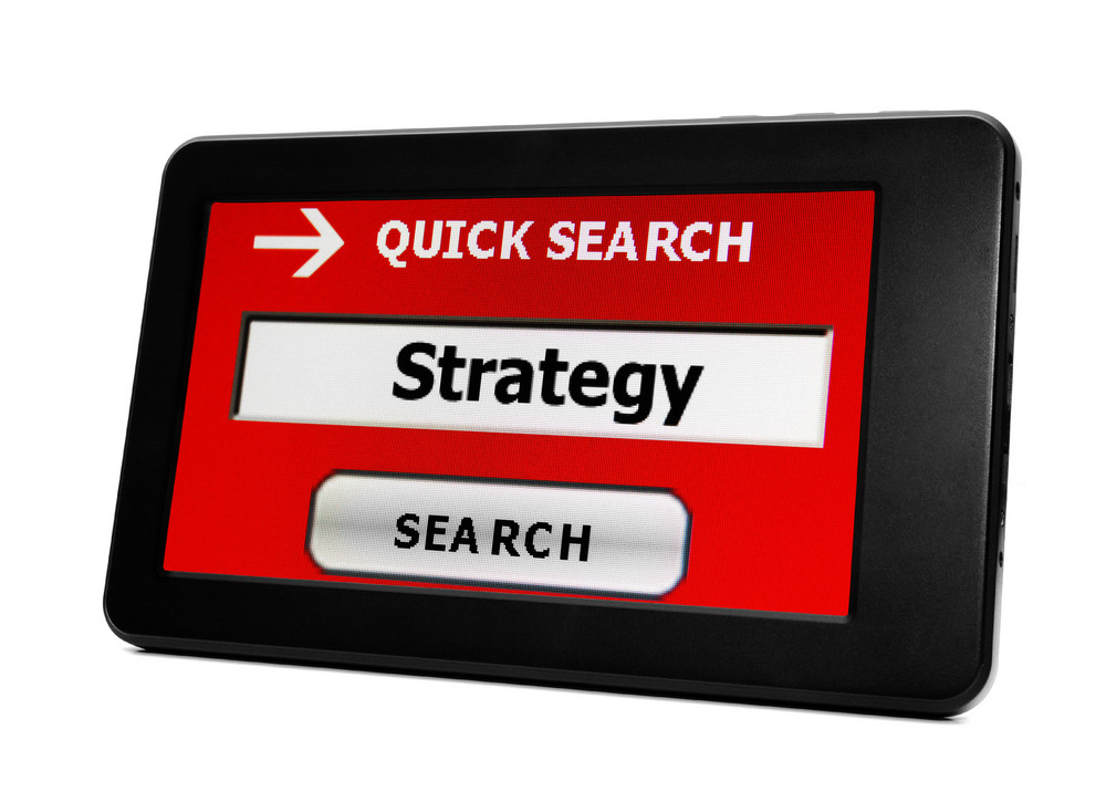 Search For Web Strategy