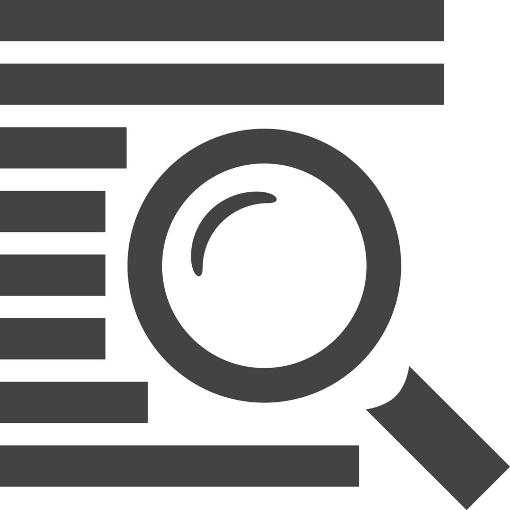 Search Glyph Icon
