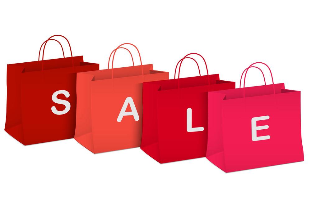 Seasonal Sale - Shopping Bags