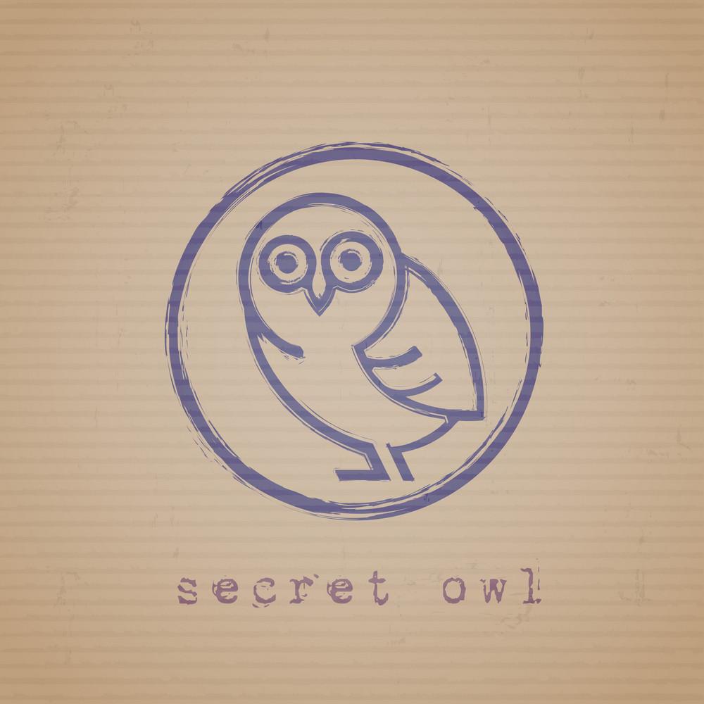 Secret Owl Stamp