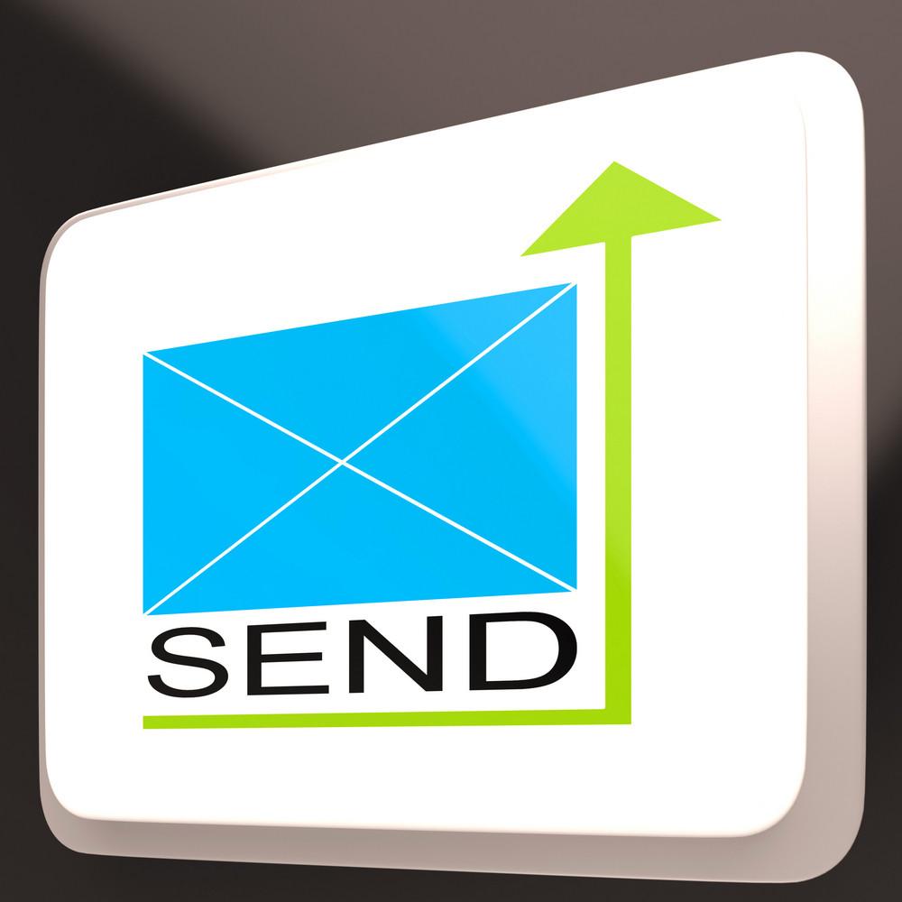 Send Mail Button Shows Online Communication