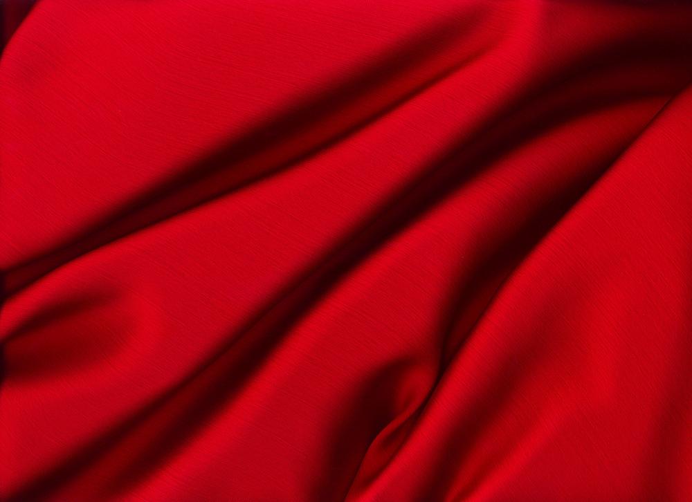 Sensuous Smooth Red Satin