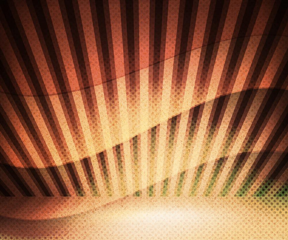 Sepia Retro Wavy Background