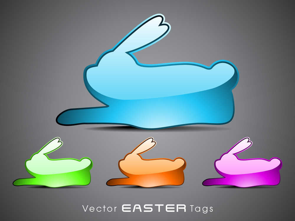 Set Of Easter Tags - 3.
