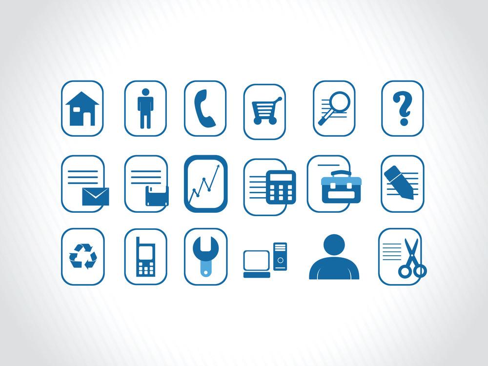 Set Of Internet Icons