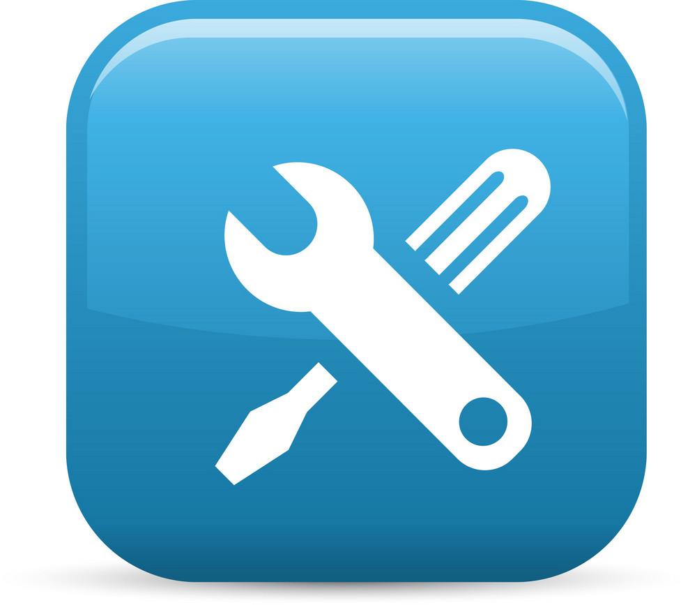 Settings Adjust Elements Glossy Icon