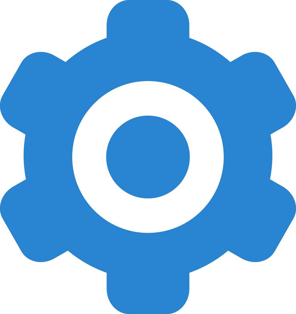 Settings Gear Simplicity Icon