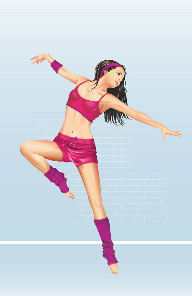 Sexy Aerobic Dancer