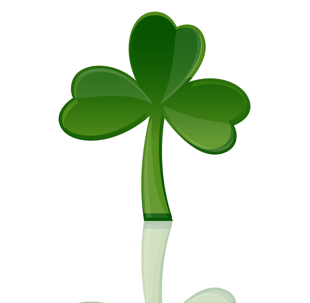 Shamrock Icon Vector Element