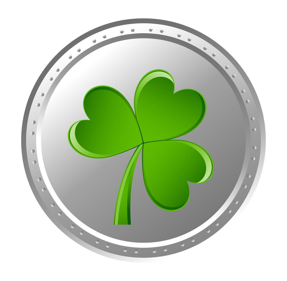 Shamrock Silver Coin