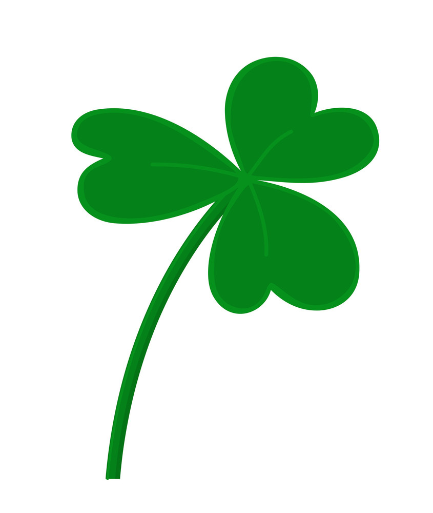 Shamrock Vector Element