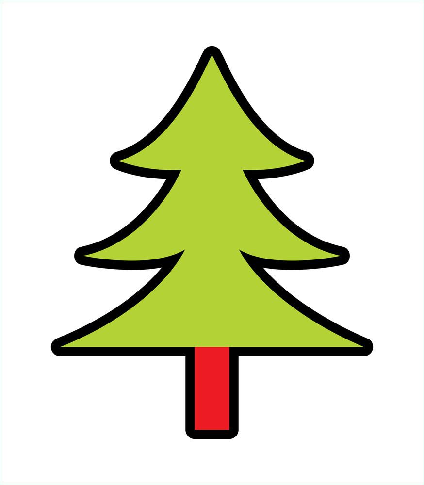 Shape Of Christmas Tree