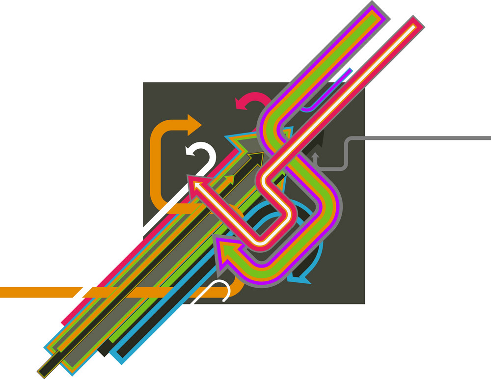 Shapes Arrows 1 Vector