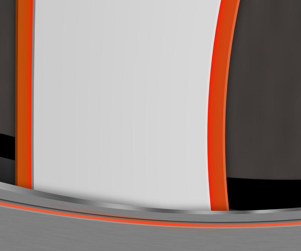Shapes Orange Background