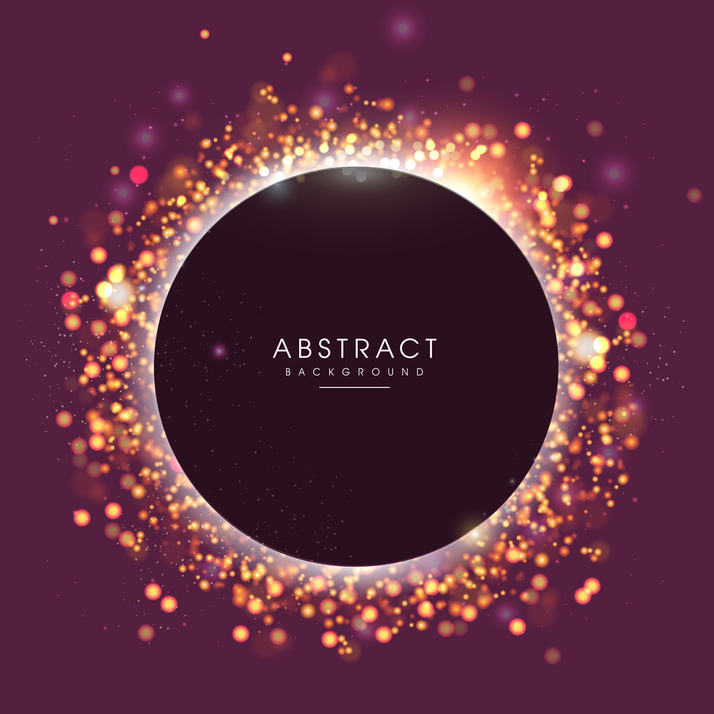 Shiny abstract background with space for your message.