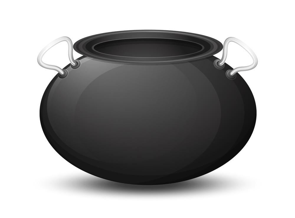 Shiny Black Cauldron