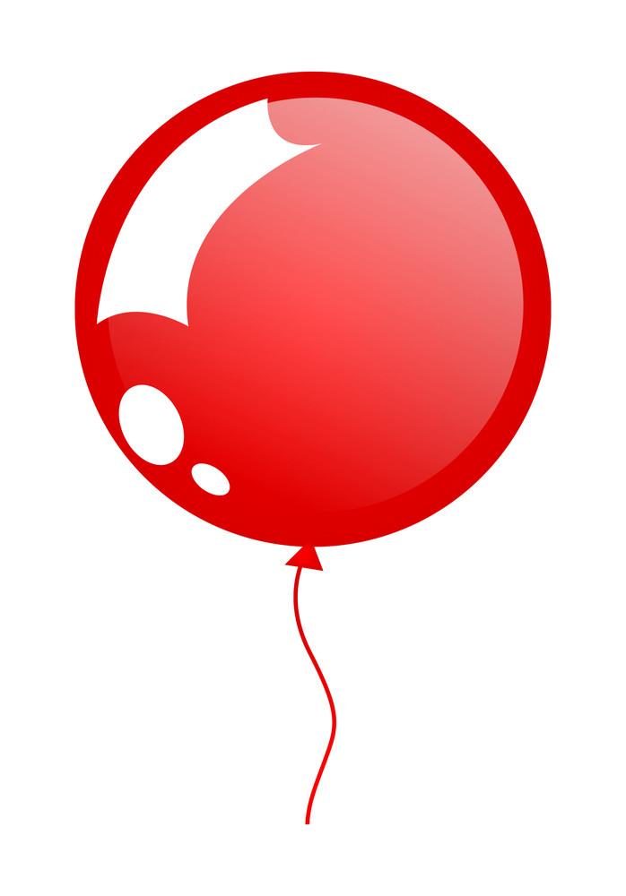 Shiny Circular Balloon