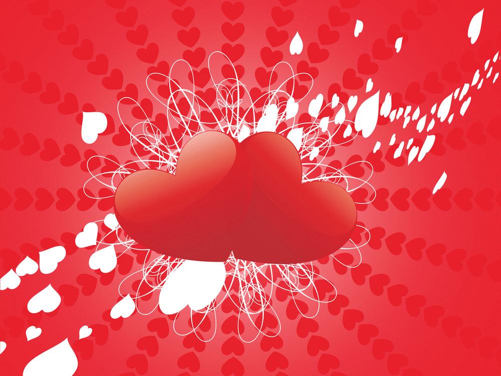 Shiny Couple Romantic Heart