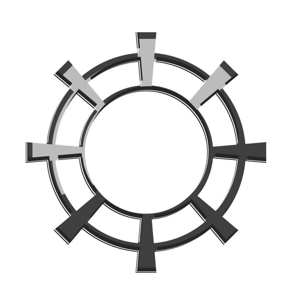 Shiny Gear Wheel Design