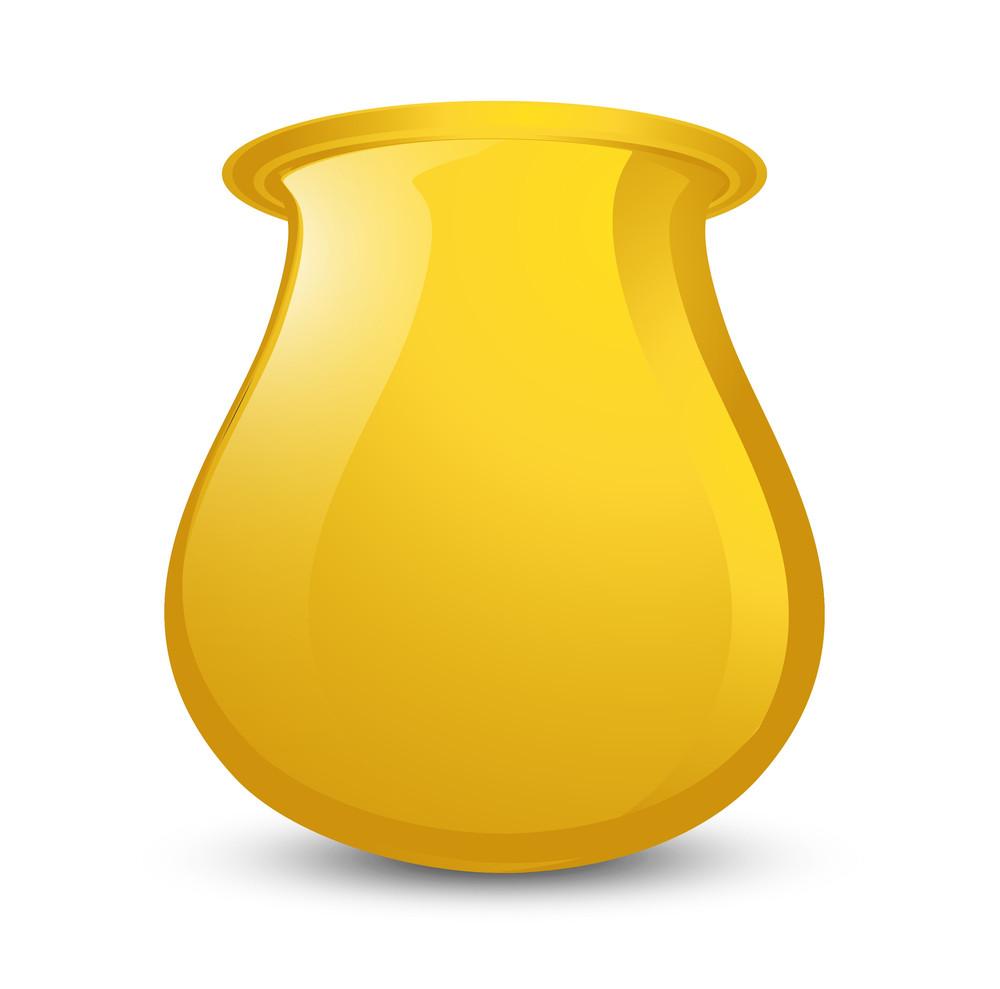Shiny Golden Cauldron